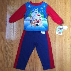 NWT Rudolph the rednose reindeer 24 month boys set